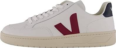 Veja Sneakers V-12 Uomo Extra-White-Marsala-Nautico