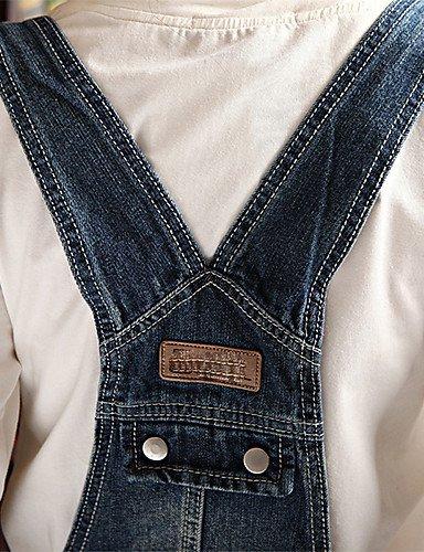 GSP-Pantalon Aux femmes Sexy / Décontracté Toile de jean blue-l