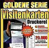 Goldene Serie. Visitenkarten- Druckerei. CD- ROM für Windows 95/98/2000