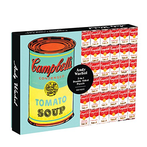 Andy Warhol Soup Can Double Sided: 500 Piece Puzzle