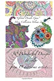 """""""Global Doodle Gems"""" Mini Collection Volume 2: """"The Ultimate Coloring Book...an Epic Collection from Artists around the World! """""""