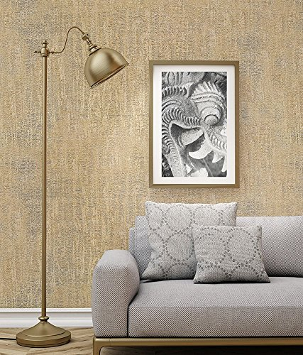 Wallpaper 4 Less Brown & Gold-Italian Wallcovering-114 sq ft