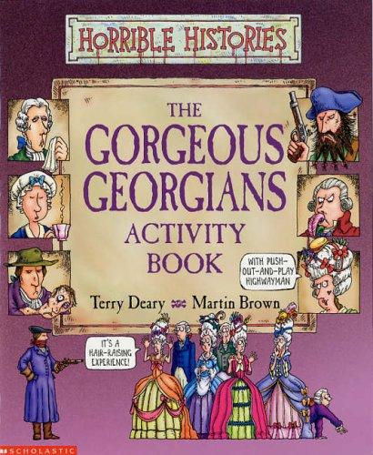 The gorgeous Georgians activity book