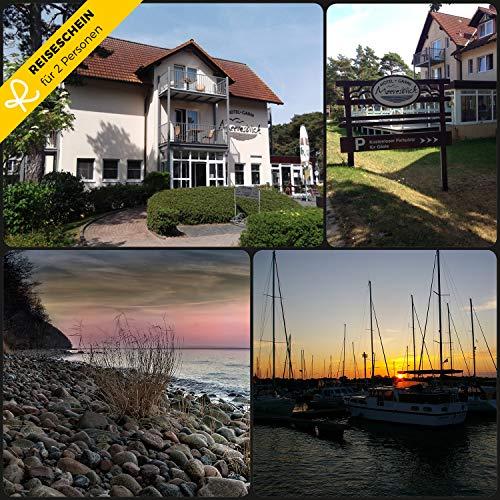Reiseschein - 3 Tage zu zweit im Hotel Garni Meeresblick - Rügen - Hotelgutschein Gutschein Kurzreise Kurzurlaub Reise Geschenk