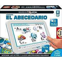 Educa Borrás - Tablet Educa Touch Junior Aprendo El Abecedario Tactil Reconoce Letras 29-15435