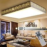 WYBAN Wohnzimmer Deckenlampen 72W Dimmbar LED Meteorschauer Deckenleuchten Wandlampe