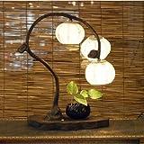 Lampe Hanji Tradition Corée Lumière Chambre 3 nuances Matin calme ARBRE FRUITIER