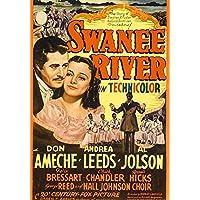 Swanee River Movie Poster Masterprint (60.96 x 91.44 cm)