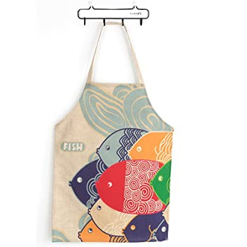 Kinderschürze Kochen Bastelschürze Werkschürze Küche Schulschürze Kinder KATZE