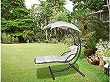 Balancin Jardin 1 plaza Beige Toldo+Cojines
