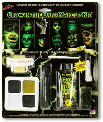 Make Up Set Glow in the Dark (The Glow In Dark Make Creme Up)