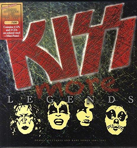 More Legends ( 4 Colored LPs + 3 CDs Boxset)