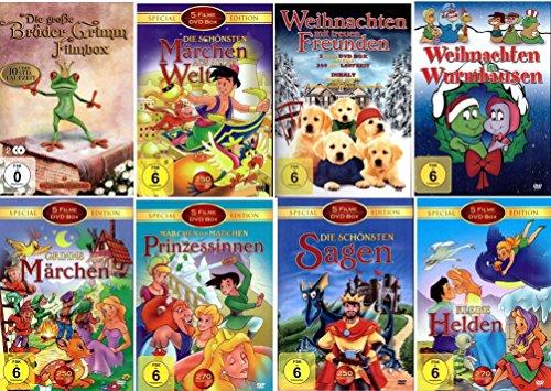 (Die Geschenk Idee - ÜBER 50 Kinderfilme - Weihnachten - Geburtstag - Ostern [9 DVDs])