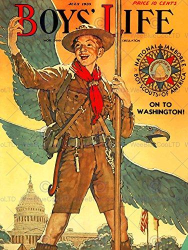 comics-boys-life-boy-scout-eagle-white-house-jamboree-usa-poster-affiche-30x40-cm-12x16-in-print-abb