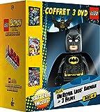Coffret Lego: Batman le film: unité des super héros + La grande aventure Lego + La Ligue des Justiciers: La Ligue Bizarro - Coffret DVD - DC COMICS [Édition limitée - Réveil Lego Batman]