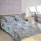 Burrito Blanco - Colcha-boutí 399 Azul de cama de 135x190/200 cm