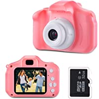 LIUMY children's camera, multifunctional children's toy digital camcorder for 3-12 years old ...
