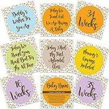 Baby Brain Schwangerschaft Milestone Karten Zukünftige Mutter Schwangerschaft Geschenke