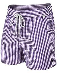 Ralph Lauren Gingham Shorts de Bain