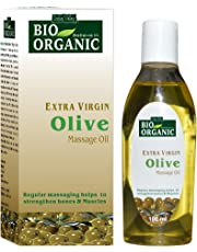 Indus Valley Bio Organic Extra Virgin Olive Massage Oil 100Ml