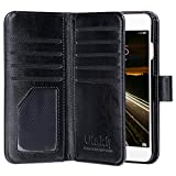ULAK iPhone 6 Case, iPhone 6s Wallet Case Luxury Premium Synthetic leather St