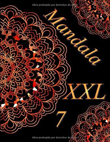 Mandala XXL 7: libro para colorear para adultos
