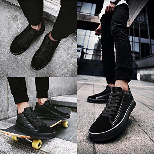 Sneaker Da Uomo Di Joyorun, Scarpe Da Skateboard Basse, Sneaker Da Ginnastica Classiche Sportive Nere