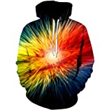 Men Hoodie 3D Chic Printing Oversize Street Fashion Trend Cool Hip Hop Sweatshirt Casual Comfortable Classic Hoodie with Pock