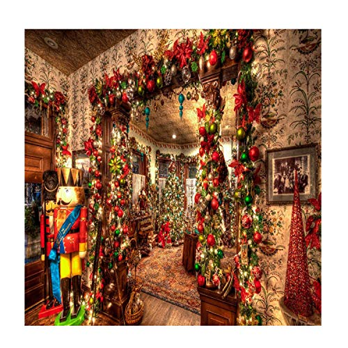 Tapisserie,wandteppich psychedelic,Weihnachten Home Wand Dekor Tapisserie Wandbehang Kunst Strand Decke Picknick Blatt Teppich Xmas Party Dekoration 150x130 cm Stil B (Weihnachten Decke Dekor)