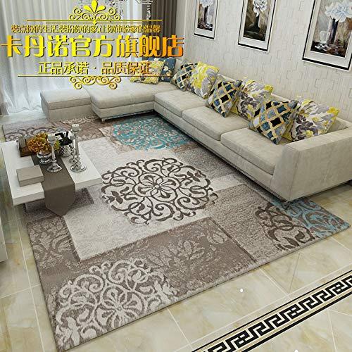 GRENSS Dicke Nordic minimalistischen modernen europäischen Land American Chinesisch Vereinfacht Kosmetiksalon Kaffee pad Schlafzimmer Arbeitszimmer Teppich, 80 cm * 120 cm, 9524 Y