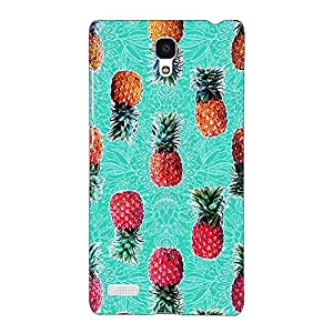 Jugaaduu Pineapple Pattern Back Cover Case For Redmi Note