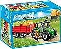 Playmobil 6130 - Großer Traktor mit Anhänger von PLAYMOBIL