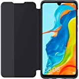 Huawei P30 Lite Smart View Flip Cover - Black (Pack of 1)