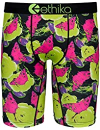 online store 97185 a8b23 Ethika Jelly Garden The Staple Fit Men s Boxer Brief Green