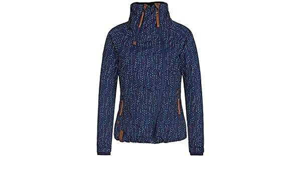 Naketano Ej du Geile Schnalle Jacket Dashes II Blue: Amazon