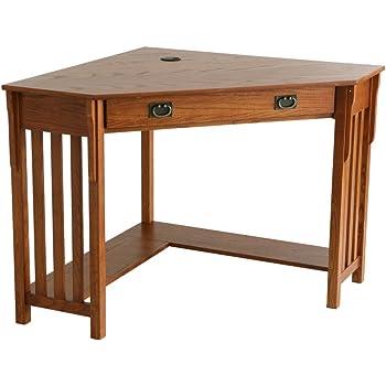 dalton corner computer desk sand oak. Fine Dalton Southern Enterprises Wood Mission Oak Corner Computer Desk For Dalton Desk Sand