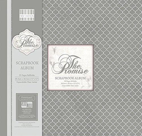 first-edition-the-promise-album-con-papel-para-manualidades-transparente-3048-cm-x-3048-cm
