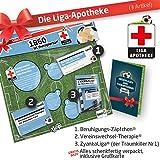 Geschenk-Set: Die Liga-Apotheke für 1860 München-Fans | 3X süße Schmerzmittel für TSV 1860 München Fans Fanartikel der Liga, Besser ALS Trikot, Home Away, Saison 18/19 Jersey