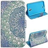Voguecase® für Alcatel One Touch Pop 4 Plus hülle,(Grün