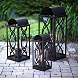 Terra Flame 700953164247Augusta Collection Laterne, Klein, Bronze Large - 32.5in. Bronze