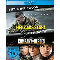 Herz aus Stahl/Company of Heroes - Best of Hollywood/2 Movie Collector's Pack 94