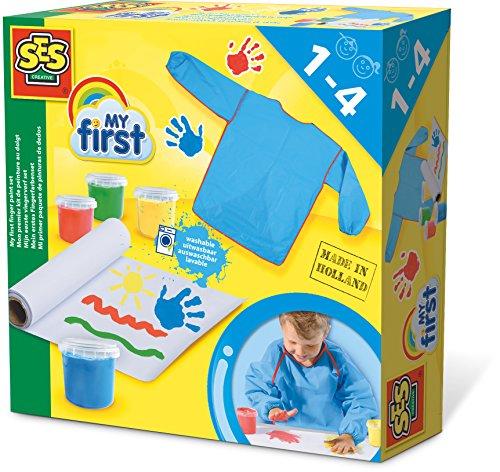 SES Creative 14417 - Mein Erstes Fingerfarbenset My First