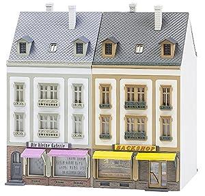 Faller FA 130702-2Serie Casas Bancal Hoven Calle, Accesorios para el diseño de ferrocarril, Modelo