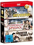 Die Abenteuer-Box - Boxset mit 3 spannenden Abenteuerfilmen (Der Sieg des Odysseus, Der Wächter des Hades, Das Rätsel der Sphinx) [3 DVDs]