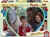 Schmidt Spiele Puzzle 56235 - Bibi und Tina zum Film 4, Mädchenfreundschaft, 150 Teile