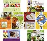 50 Glückwunschkarten zur Erstkommunion Klappkarten mit 50 Umschlägen 8 Motive IHS Kelch Grußkarten Kommunion 12-2200