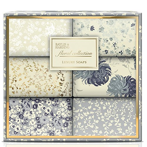 Baylis & Harding Floral Collection Wrapped Soap Gift Box