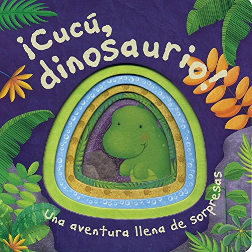 ¡Cucú, Dinosaurio! (Die-Cut Animal Board)