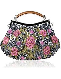 nuovo stile 32eb1 42efd Amazon.it: Con perline - Borse Tote / Donna: Scarpe e borse