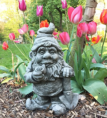 Ordinaire Antikasu2013Funny Gnomeu2013Pipe Smoking Garden Gnome Gnome